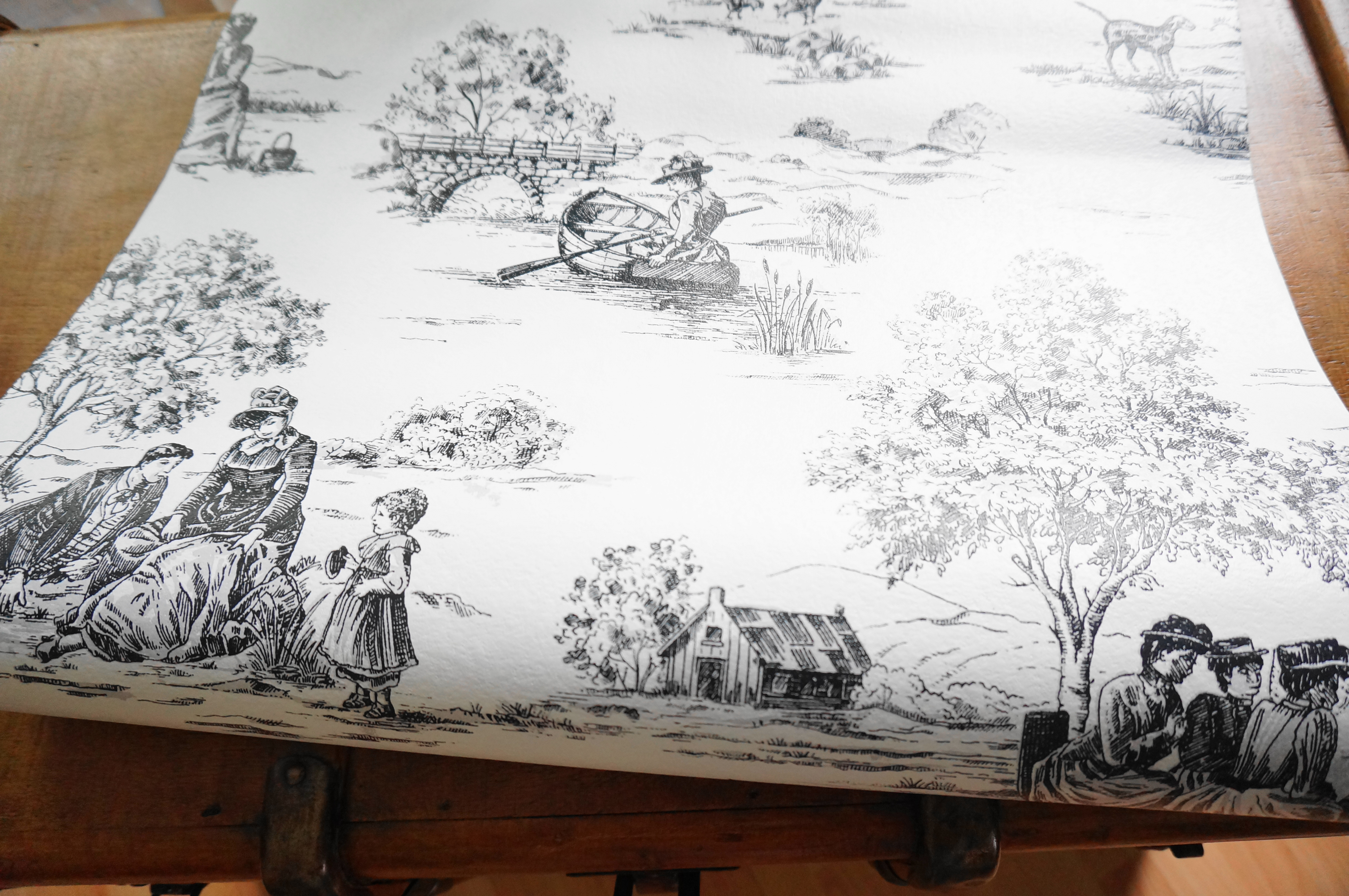 La Toile De Jouy Star De La Customisation Mahousindeco